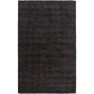 Hand-Tufted Stalham Geometric Viscose Rug (8' x 10')