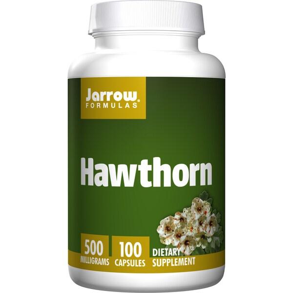 Jarrow Formulas 500 MG Hawthorn (100 Capsules)