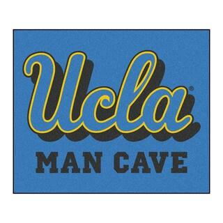 Fanmats Machine-Made UCLA Blue Nylon Man Cave Tailgater Mat (5' x 6')