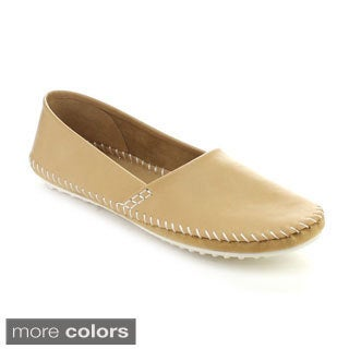 Nature Breeze Women's Tuscany-01 Lightweight Slip-on Casual Shoes