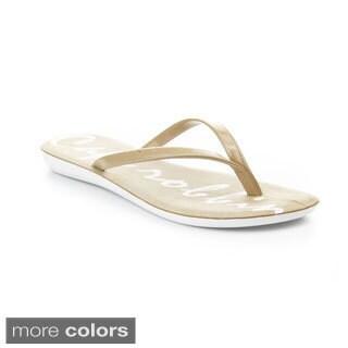 Cape Robbin Women's ADAN-JH-01 Slim Flip Flop Thong Sandals