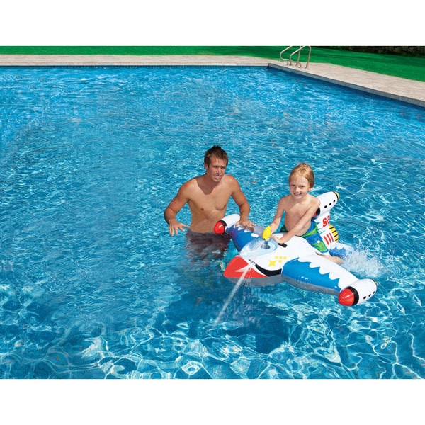 Intex Water Gun Spaceship Ride-on