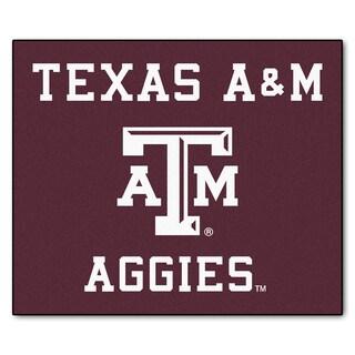 Fanmats Machine-Made Texas A&M University Burgundy Nylon Tailgater Mat (5' x 6')