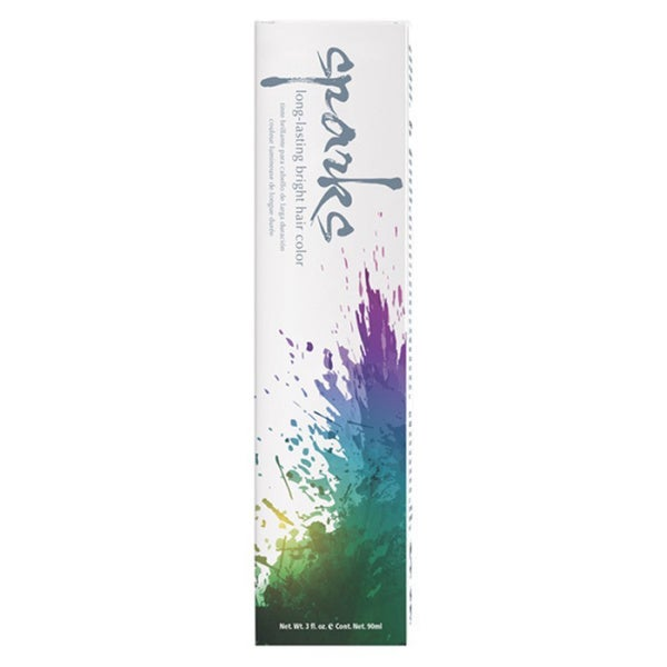 Sparks Long-lasting Electric Blue 3-ounce Bright Hair Color