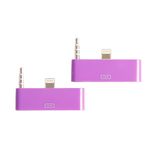 30-Pin to 8-Pin or 3.5Mm Device Adapters (Pack of 2)