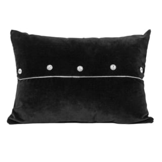 Wake Up Frankie Frenchie Oblong Velveteen Accent Pillow