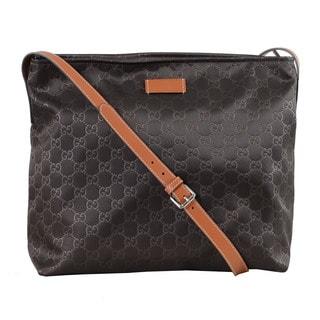 Gucci GG Nylon Messenger Bag