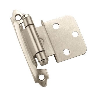 Amerock 0.375-inch Offset Face Mount Self-closing Hinges (Pack of 50)