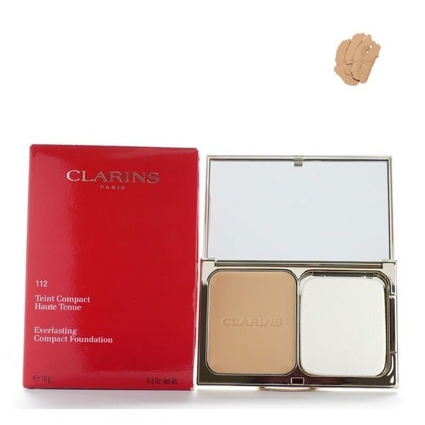 Clarins Everlasting 112 Amber Compact Foundation