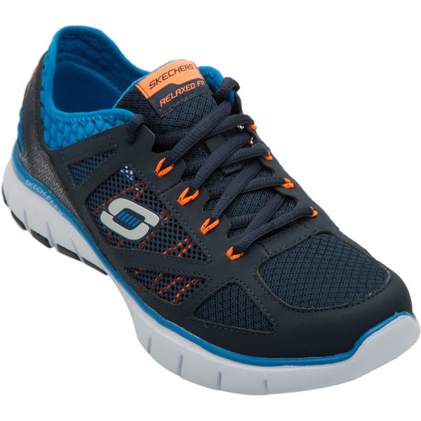 Skechers USA Relaxed Fit Gel-infused Memory Foam Footbed Neoprene Collar Athletic Shoes