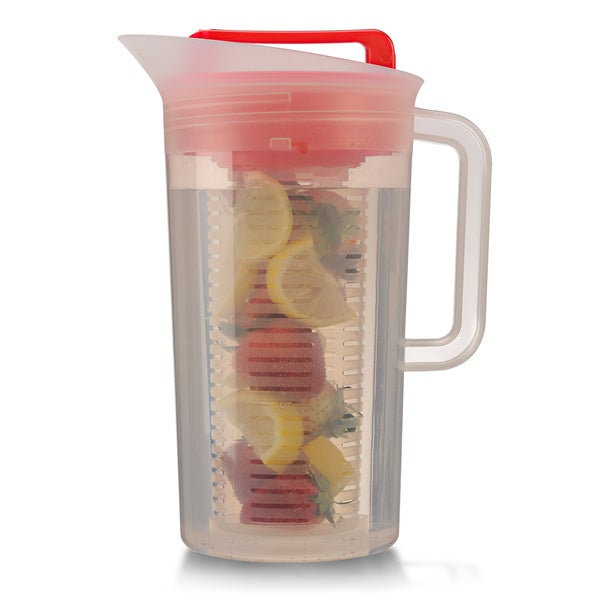 Shake and Infuse Red Pitcher