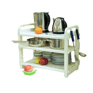 3 Layer Dish and Cookware Shelves