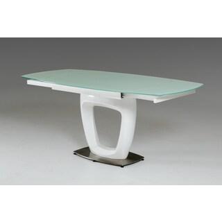 Modrest 2609XT-23 Modern White Extendable Dining Table