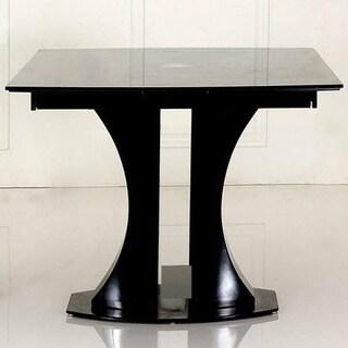 Modrest Split Modern Black Extendable Dining Table
