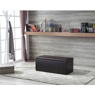 Royal Comfort Multi Function Storage Ottoman Brown