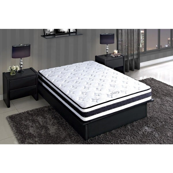 DHP Signature Sleep 8-inch Full-size Liberty Pocket Coil & Memory Foam reversible Mattress
