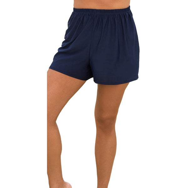 Navy Loose Shorts Bottoms