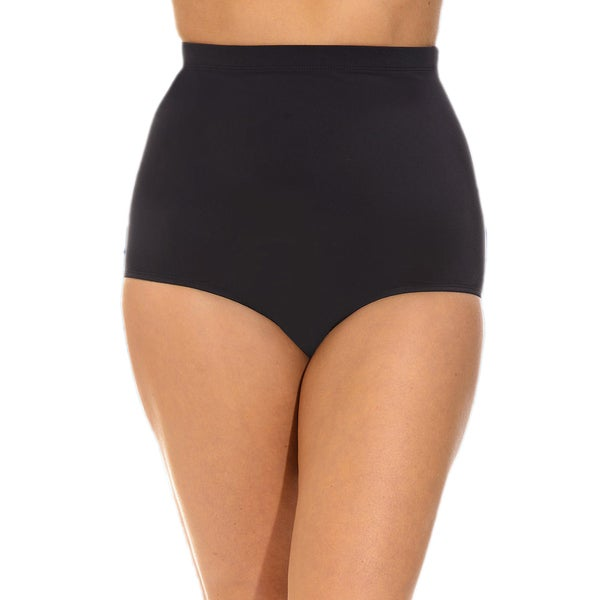 Black High Waist Brief Bottoms