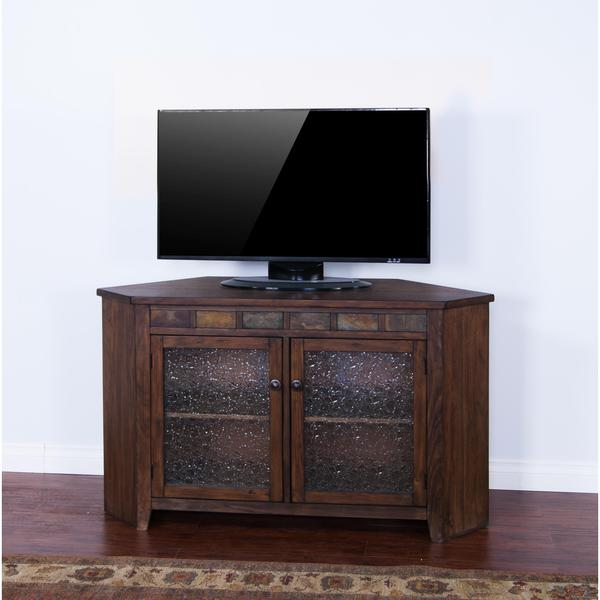 Sunny Designs Savannah Corner Tv Console