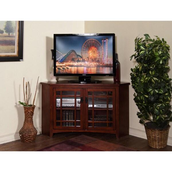 Sunny Designs Route 66 Corner TV Console