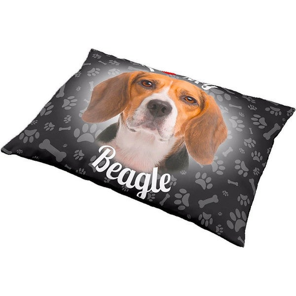 iLeesh I Love My Beagle Pet Bed