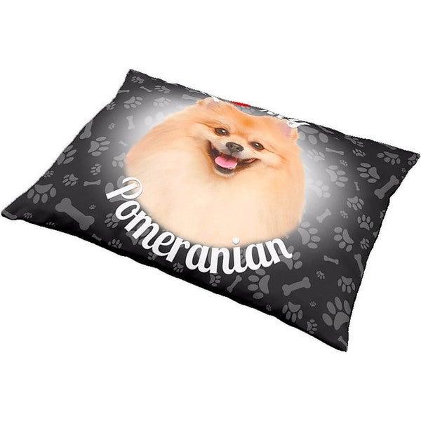 iLeesh I Love My Pomeranian Pet Bed