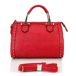 Rimen & Co. Front Studded Doctor Style Handbag