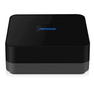 Mpow Streambot Box Bluetooth 4.0 Audio A2DP Receiver NFC-Enabled apt-X Adapter with Stable Signal Hight-fidelity Stereo Sound