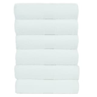 Luxury Hotel and Spa 100-percent Genuine Turkish Cotton Hand Towels Honeycomb (Set of 6)