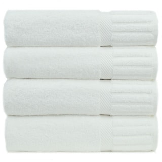 Luxury Hotel and Spa 100-percent Genuine Turkish Cotton Bath Towels Piano Key (Set of 4)