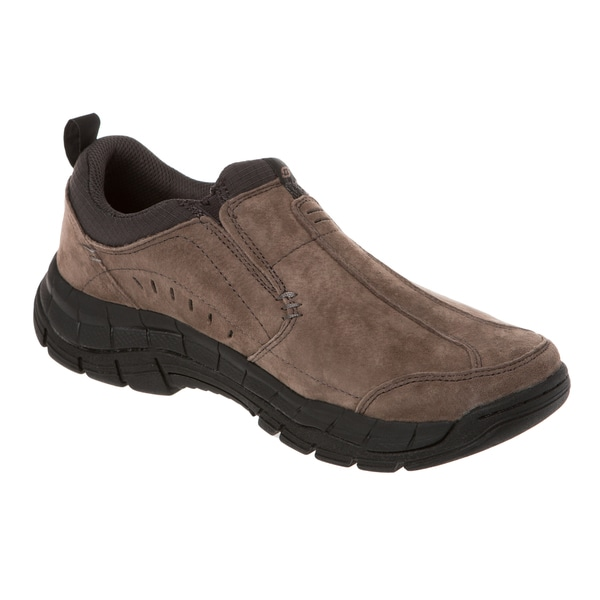 Skechers USA Relaxed Fit Nubuck Upper Slip-on with Memory Foam