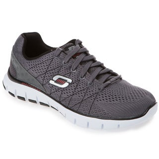 Skechers USA 51442 Skech-Flex Engineered Mesh Upper Gel-infused Memory Foam Footbed Sneaker