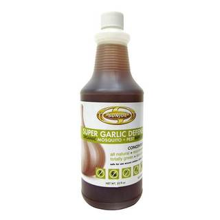 Sun Joe Super Garlic Defense Organic Mosquito and Pest Repellent