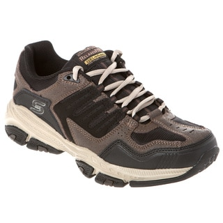 Skechers USA 51270 Layered Upper Relaxed Fit Gel-infused Memory Foam Footbed Shoes