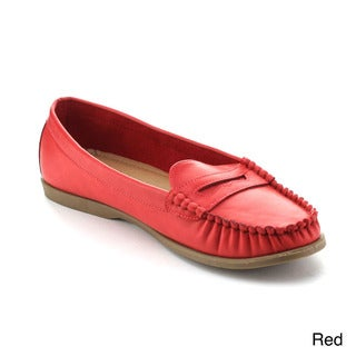 Refresh Women's Martino-01 Comfort Slip-on Loafers