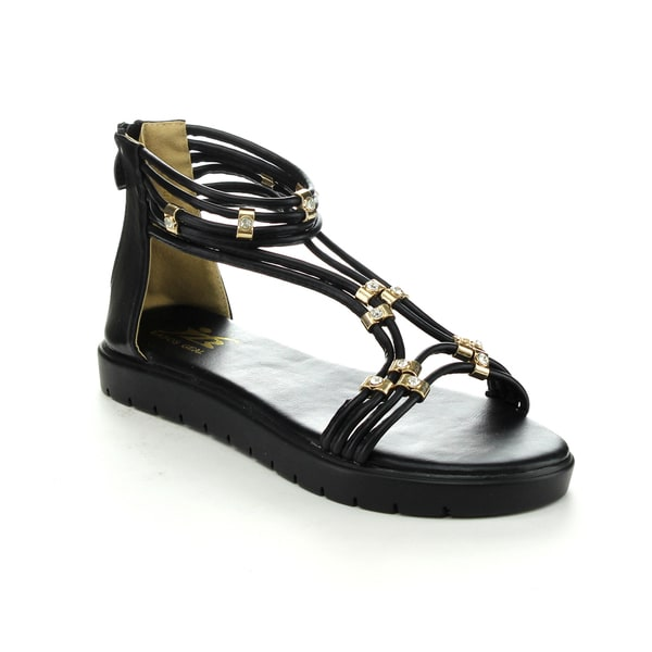 EASOS Women's GEAL LEBQ-215 Metal Detail Sandals