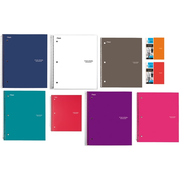 Five Star Wirebound Notebook (Pack of 4)