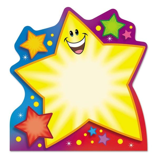 TREND Multicolored Note Pad w/Super Star Design (Pack of 5)
