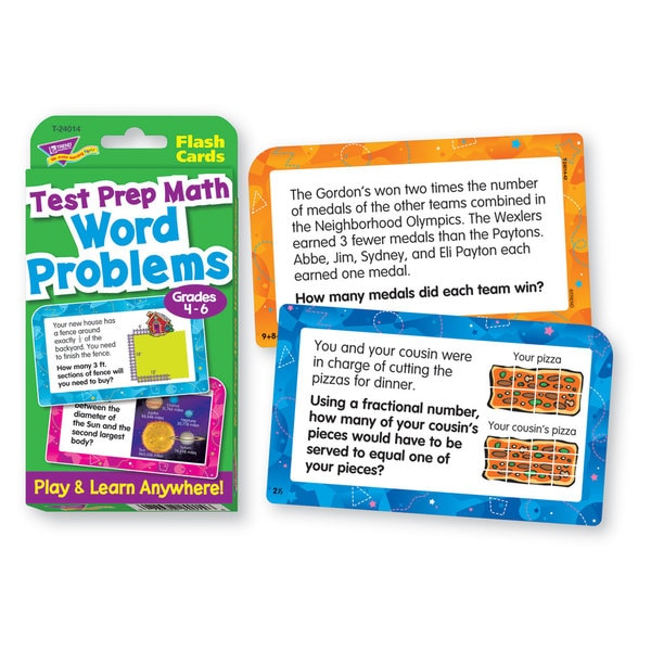 TREND Challenge Flash Cards (10 Packs of 56 Flash Cards)