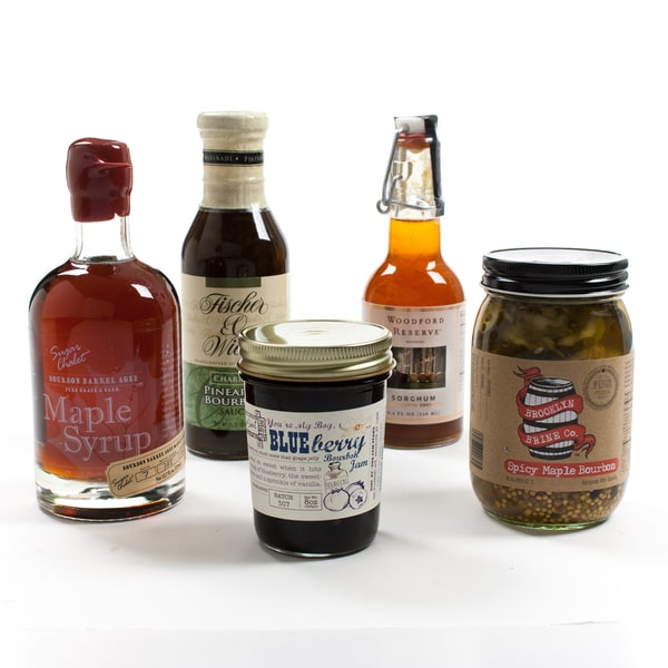 A Touch of Bourbon Flavor Collection Gift Set