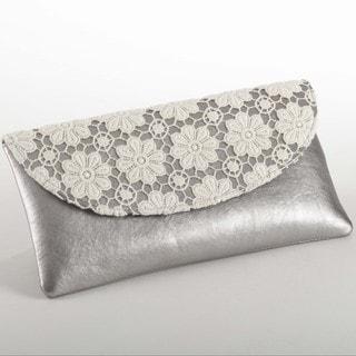 Lace Design Clutch