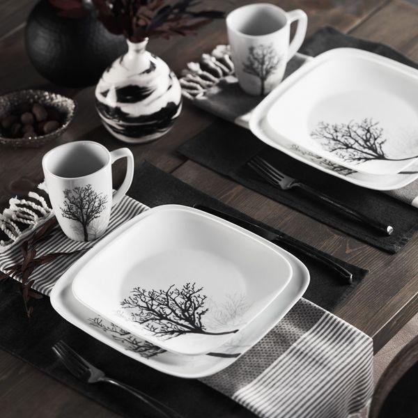 Surprising Corelle Dinnerware Square White Gallery - Best Image . & Surprising Corelle Dinnerware Square White Gallery - Best Image ...