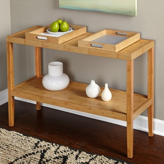 Simple Living Parker Console Table with Trays