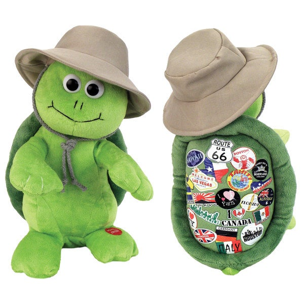 Chantilly Lane 12-inch R.V. the Travelin' Turtle Singing and Dancing Plush