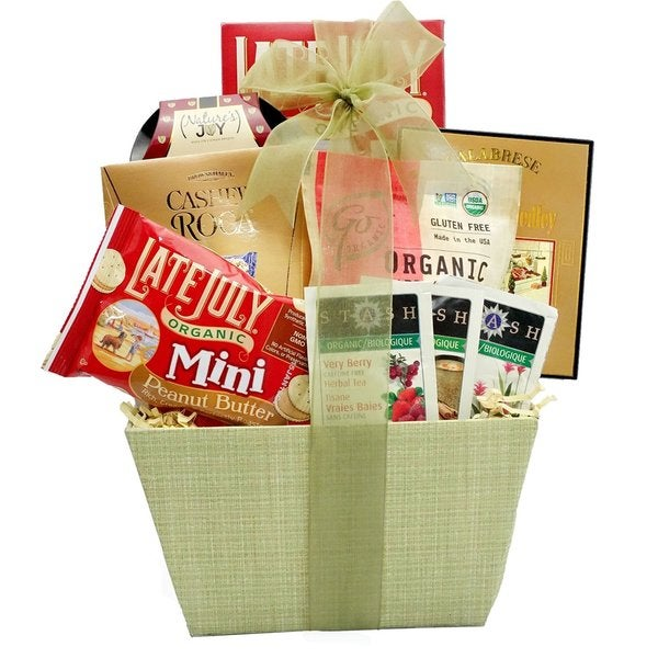 Organic Healthy Gift Basket