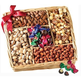 Gourmet Sweet & Savory Nut Gift Basket