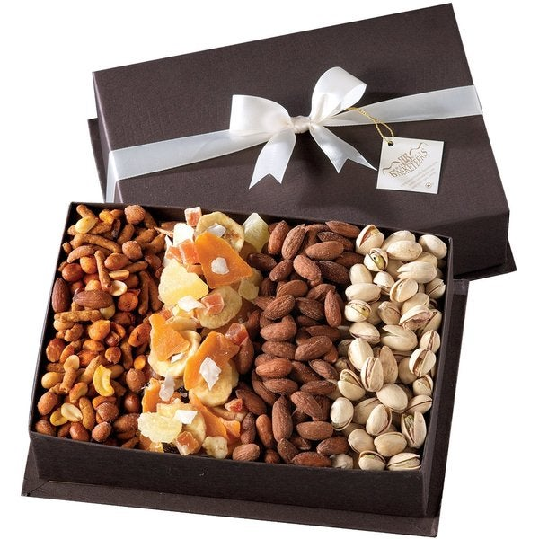 Gourmet Fruit & Nut Gift Basket