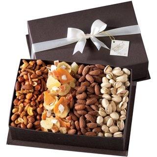 Gourmet Fruit & Nut Gift Basket by Broadway Basketeers