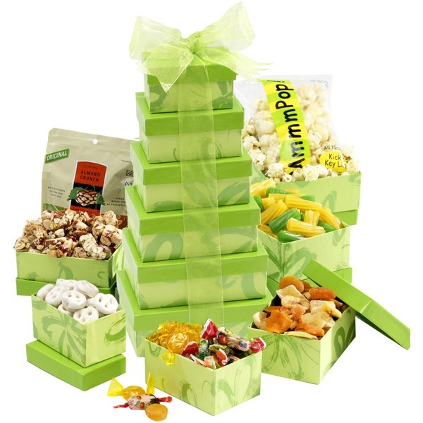 Luscious Lime Gift Tower
