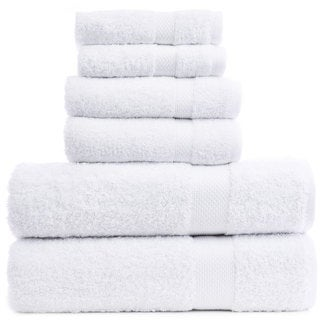 Luxury Hotel and Spa 100-percent Genuine Turkish Cotton 6-piece Towel Set - Bamboo